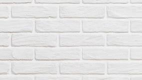 Witte bakstenen muurachtergrond omhoog onderaan effect stock videobeelden