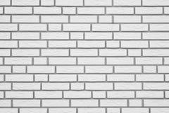 Witte bakstenen muurtextuur als achtergrond Royalty-vrije Stock Fotografie