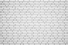 Witte bakstenen muurtextuur als achtergrond Royalty-vrije Stock Foto's