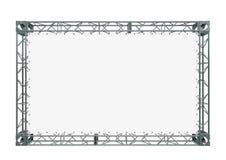 Witte banner Royalty-vrije Stock Fotografie