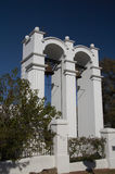 Witte Bellfry Royalty-vrije Stock Foto