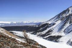 Witte berg Royalty-vrije Stock Foto
