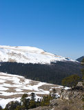 Witte berg Stock Fotografie