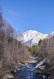 Witte berg Royalty-vrije Stock Foto's