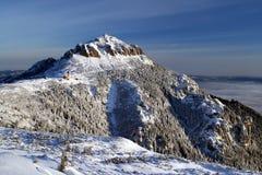 Witte berg Stock Afbeelding