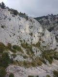Witte bergen stock afbeelding