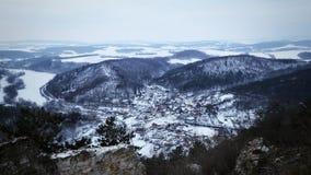 Witte bergen royalty-vrije stock foto's