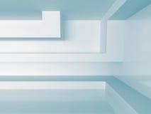 Witte Binnenlandse Achtergrond Abstract architectuurconcept Royalty-vrije Stock Foto