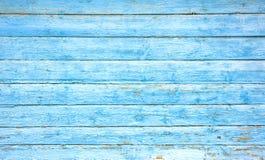 Witte Blauwe houten plank stock foto
