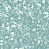 Witte bloemen Vector Illustratie