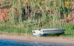 Witte boot stock afbeeldingen