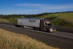 Witte Bros. Semi Truck.  Royalty Free Stock Photos
