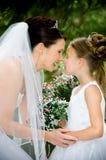 Witte Bruid royalty-vrije stock afbeeldingen