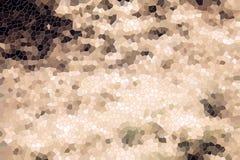 Witte bruine grijze vierkanten en vormentextuur, achtergrond, ontwerp Royalty-vrije Stock Afbeeldingen