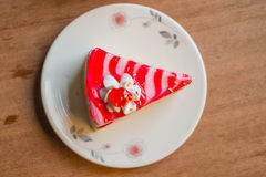 Witte cake Royalty-vrije Stock Afbeelding