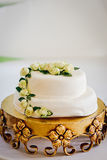 Witte cake Stock Fotografie