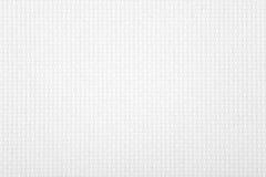 Witte canvasachtergrond Stock Fotografie