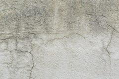 Witte cementmuur Royalty-vrije Stock Foto's
