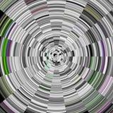 Witte cirkelachtergrond, abstract ontwerp Stock Foto's