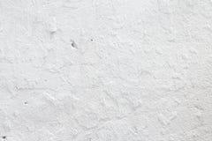 Witte concrete muurtextuur Royalty-vrije Stock Afbeeldingen