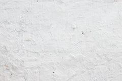 Witte concrete muurtextuur Royalty-vrije Stock Foto's