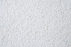 Witte concrete muurtextuur Stock Afbeeldingen