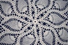 Witte crochet Stock Afbeelding