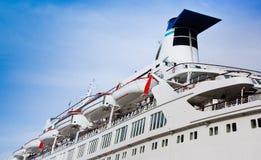 Witte cruisevoering Stock Afbeelding