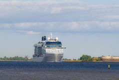 Witte cruisevoering Royalty-vrije Stock Foto