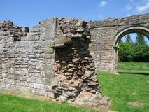 Witte Damespriorij, Shropshire, Engeland stock afbeeldingen