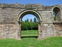 Witte Damespriorij, Shropshire, Engeland stock foto's