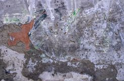 Witte de bakstenen muur stedelijke achtergrond van de Grungetextuur r stock afbeeldingen