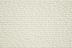 Witte de textuurachtergrond van de steenmuur Royalty-vrije Stock Afbeelding