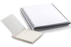 Witte Dekking van het Boek van de Nota Stock Foto's