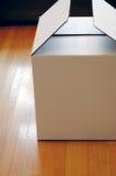 Witte doos Royalty-vrije Stock Fotografie