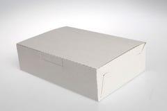Witte doos Royalty-vrije Stock Foto