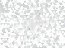 Witte driehoeken Stock Fotografie