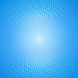 Witte en blauwe abstracte achtergrond met vierkanten Stock Afbeeldingen