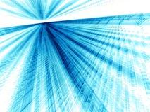 Witte en blauwe achtergrond - abstract digitaal geproduceerd beeld Royalty-vrije Stock Afbeelding