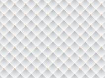 Witte en Gouden Elegante Textuurachtergrond Vectoreps illustratie Stock Fotografie