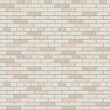 Witte en grijze binnenlandse grafisch van het bakstenen muur vectorpatroon royalty-vrije illustratie