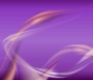Witte en rode golven op viooltje Royalty-vrije Stock Foto's