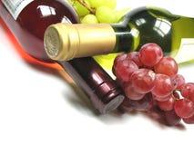 Witte en rode wijn Royalty-vrije Stock Fotografie
