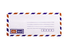 Witte en uitstekende Envelop Stock Fotografie