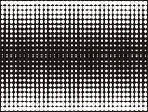 Witte en zwarte halftone stock foto's