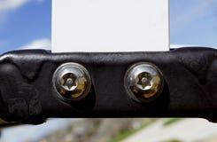 Witte en Zwarte Hardware Royalty-vrije Stock Foto