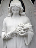 Witte engel Stock Foto