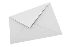 Witte envelop royalty-vrije illustratie