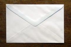 Witte envelop Royalty-vrije Stock Afbeeldingen