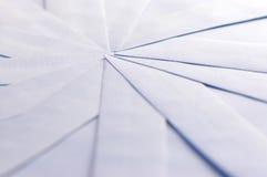 Witte enveloppen Stock Foto
